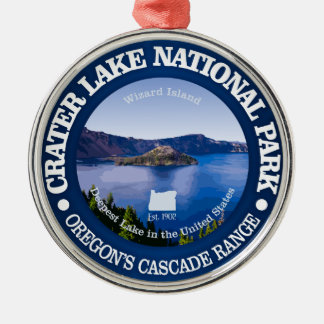 Crater Lake National Park Christmas Ornament