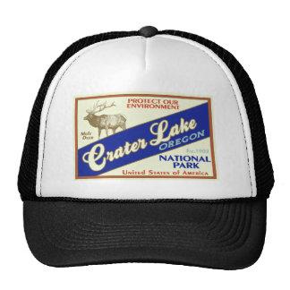 Crater Lake National Park Elk Trucker Hat
