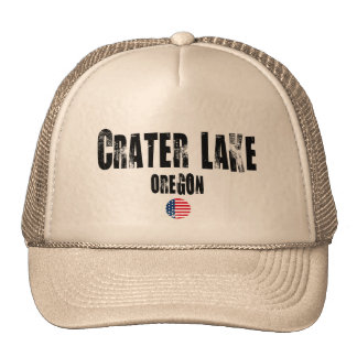 Crater Lake National Park Trucker Hats