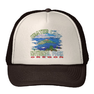 Crater Lake National Park Oregon Trucker Hats