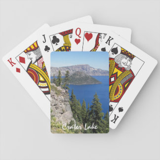 Crater Lake National Park Photo Poker Deck