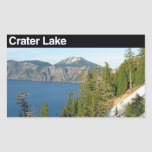 Crater Lake National Park Rectangular Sticker