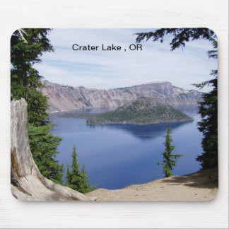 Crater Lake OR Mouse Pad