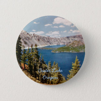 Crater Lake Oregon Button