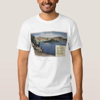 Crater Lake, Oregon - Observation Tee Shirt