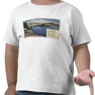 Crater Lake Oregon - Observation Tee Shirts
