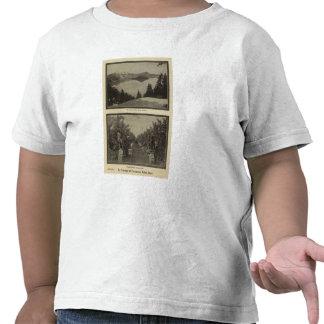 Crater Lake Oregon Orchard scene T Shirts