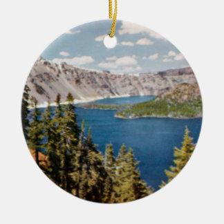 Crater Lake Oregon Ornament