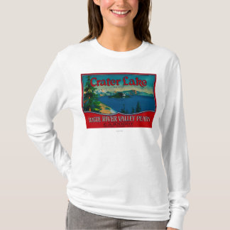 Crater Lake Pear Crate LabelMedford, OR T-Shirt