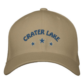 Crater LakeNational Park Embroidered Baseball Caps