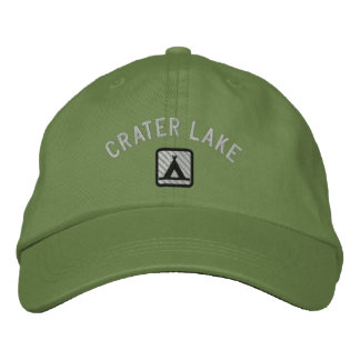Crater LakeNational Park Embroidered Hat