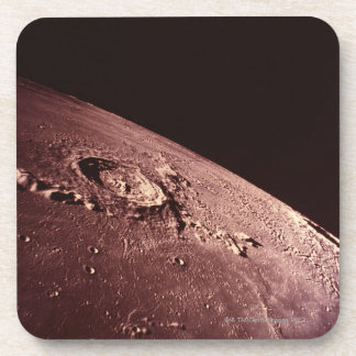 Crater on the Moon Beverage Coasters