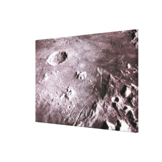 Craters on the Moon Canvas Print