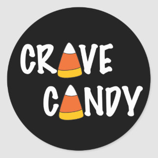 Crave Candy - Halloween Candy Corn Stickers