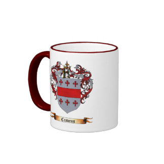 Cravens Shield of Arms Coffee Mugs
