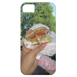craving a burger iPhone 5 cover