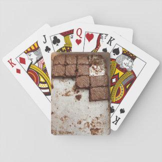 Craving Brownies Playing Cards
