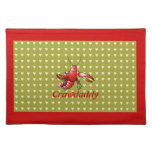Crawdaddy Red Crayfish Placemats