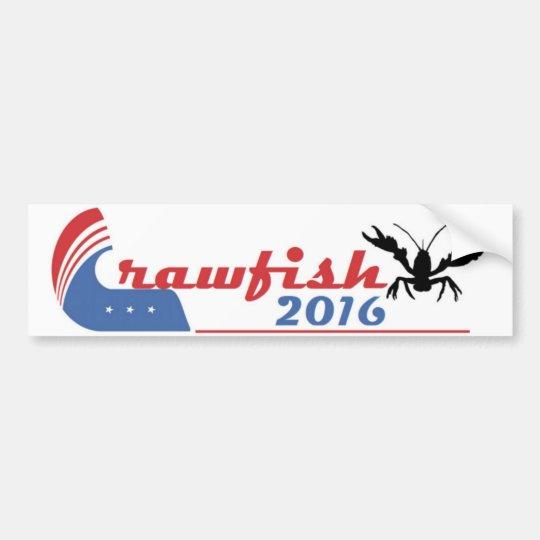 Crawfish 2016 Bumper Sticker