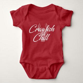 Crawfish and Chill Baby Baby Bodysuit