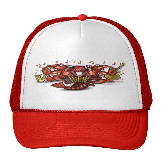 Crawfish Band Trucker Hats