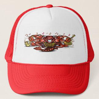 Crawfish Band Trucker Hat
