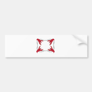 Crawfish Base Bumper Stickers