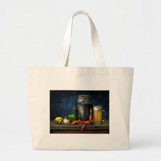 Crawfish & Beer Tote Bag