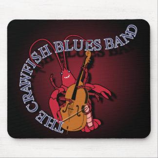 Crawfish Blues Band Bassist Mouse Mat