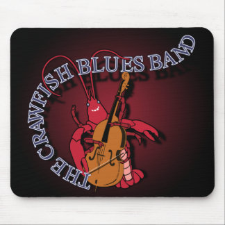 Crawfish Blues Band Bassist Mouse Pad