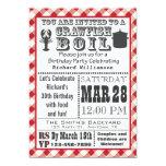 Crawfish Boil Birthday Party Invitation