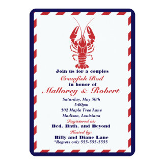 Crawfish Boil Invitation