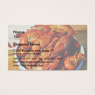 Crawfish Claws Business Card