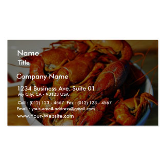 Crawfish Claws Pack Of Standard Business Cards