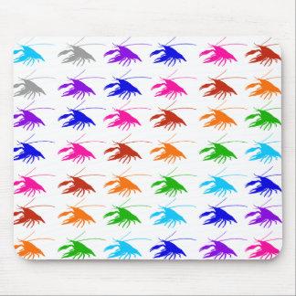 crawfish crayfish マウスパッド