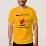 Crawfish Crayfish Boil Annual Family Party Custom T Shirt