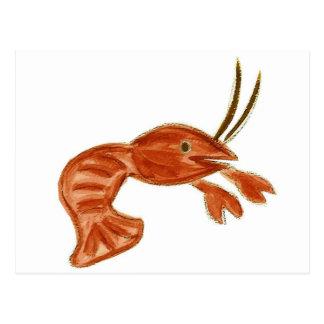 Crawfish Postcard