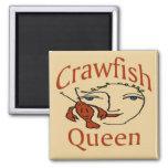 Crawfish Queen Abstract Magnet