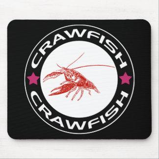 crawfish-ring red-1 マウスパッド