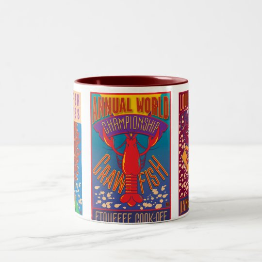 Crawfish Two-Tone Coffee Mug