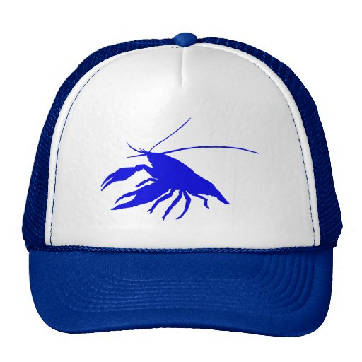 crawfish's silhouette (Red) Cap
