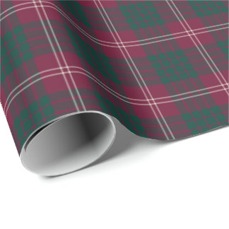 Crawford Clan Tartan Wrapping Paper