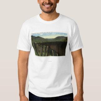 Crawford Notch View of Frankenstein Trestle T Shirt