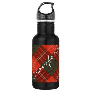 Crawford Scottish Tartan 532 Ml Water Bottle