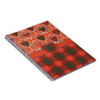 Crawford Scottish Tartan Notebook