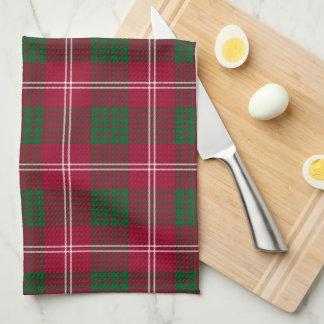 Crawford Scottish Tartan Plaid Hand Towels