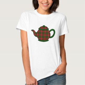 Crawford Tartan Plaid Teapot T Shirt