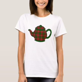 Crawford Tartan Plaid Teapot T-Shirt