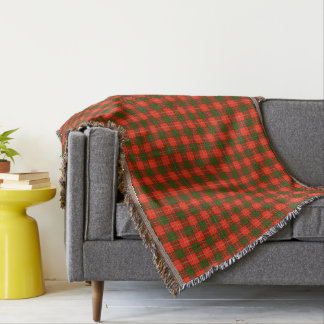 Crawford Tartan Throw Blanket