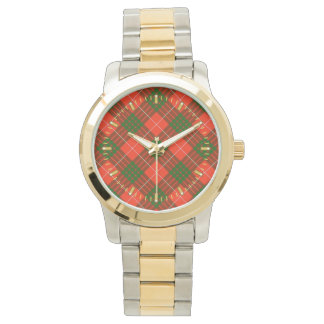 Crawford Tartan Two-tone Watch